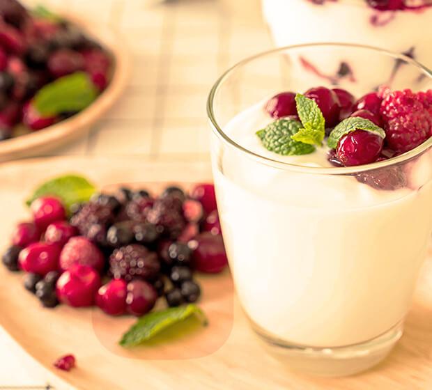 Bebidas de Frutas y Lácteos