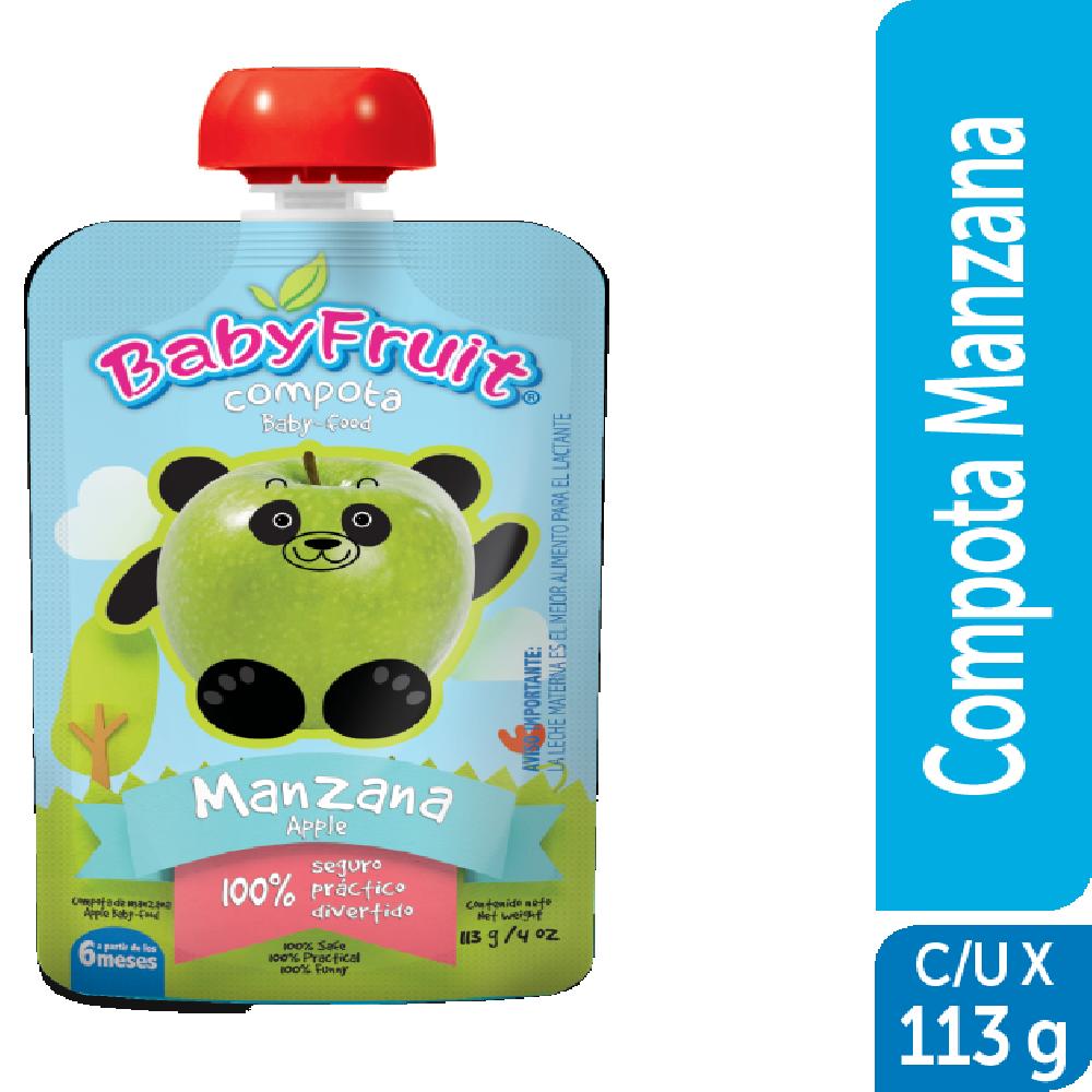 Compota en pouch BabyFruit 113g Manzana