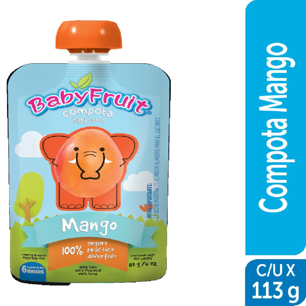 Compota en pouch BabyFruit 113g Mango