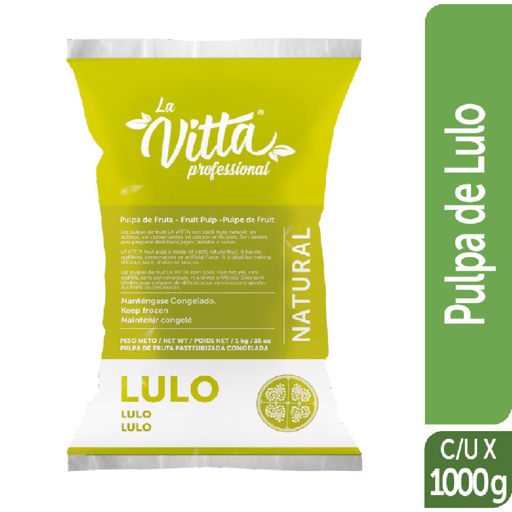 Pulpa de Fruta Congelada la Vitta 1kg Lulo