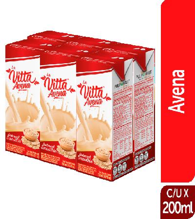 Avena Natural La Vitta 200ml sixpack