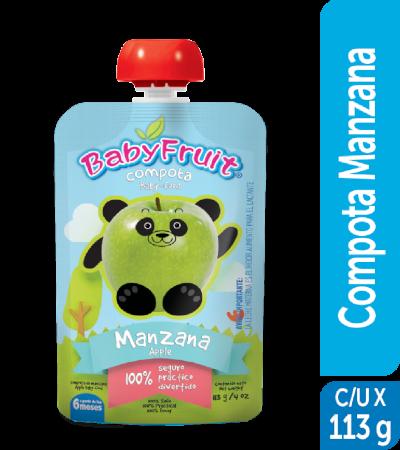 Compota en pouch BabyFruit 113g
