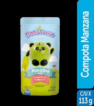Compota sachet flexible BabyFruit 113g