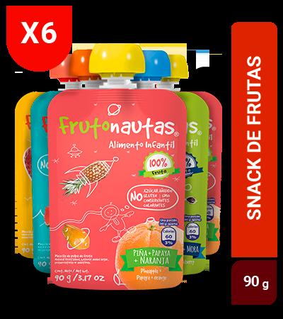 Frutonauta 90g Surtido sixpack