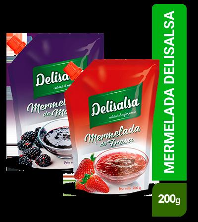 Mermelada Delisalsa 200g doypack
