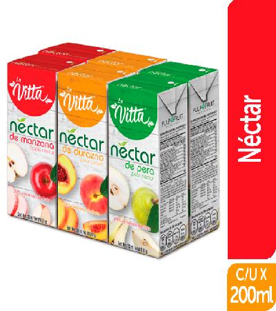 Néctar La Vitta 200ml Surtido sixpack